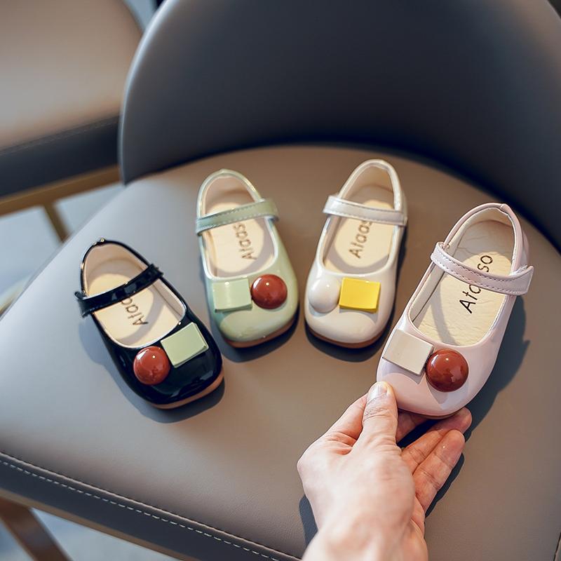 女童皮鞋2020夏季新款单鞋时尚童鞋儿童优雅公主鞋女孩软底学生鞋