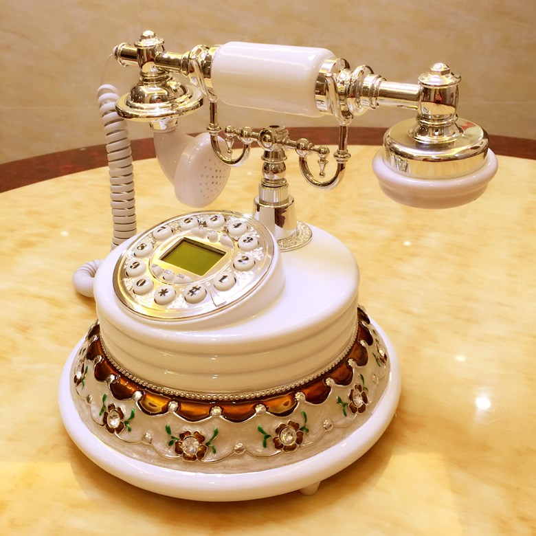 Wireless card mobile European and American villa rural retro telephone landline phone home hotel villa living room study accessories