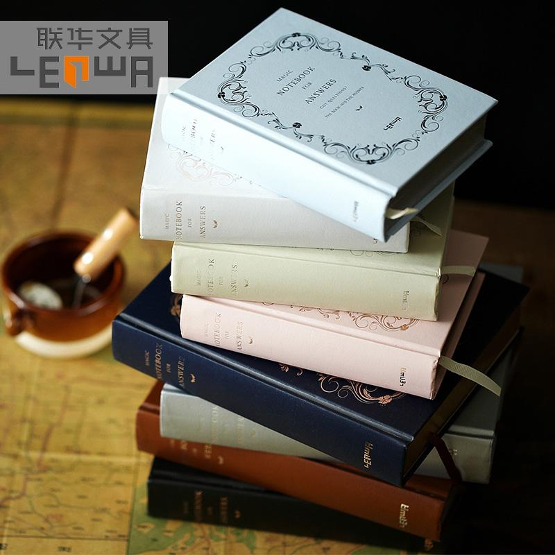 正版答案之書中英文人生解答之書聯華記事筆記本子加厚日記本禮物