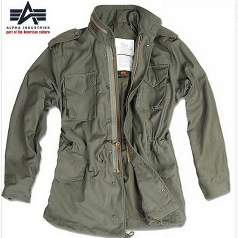 Специальное предложение предоставить право на качественную продукцию M65 классическая операция военный стиль одежда сша аль франция Alpha мужской пальто на открытом воздухе пальто