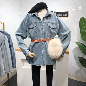 米米可2020春季新款韩版简约衬衫