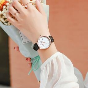 正品2020年新款小众轻奢时尚女手表