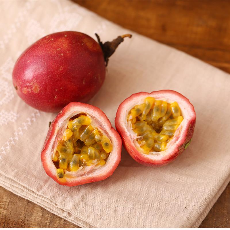 (用0.8元券)【小汤山】百香果(2粒装)150g 优选直采新鲜水果99元顺丰包邮
