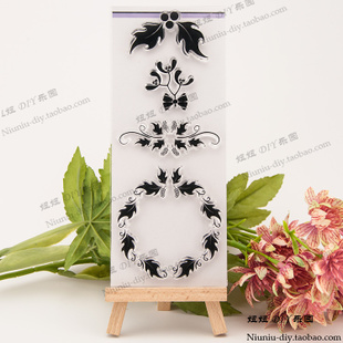 for Garland Stamp Transparent Clear Christmas Silicone DIY