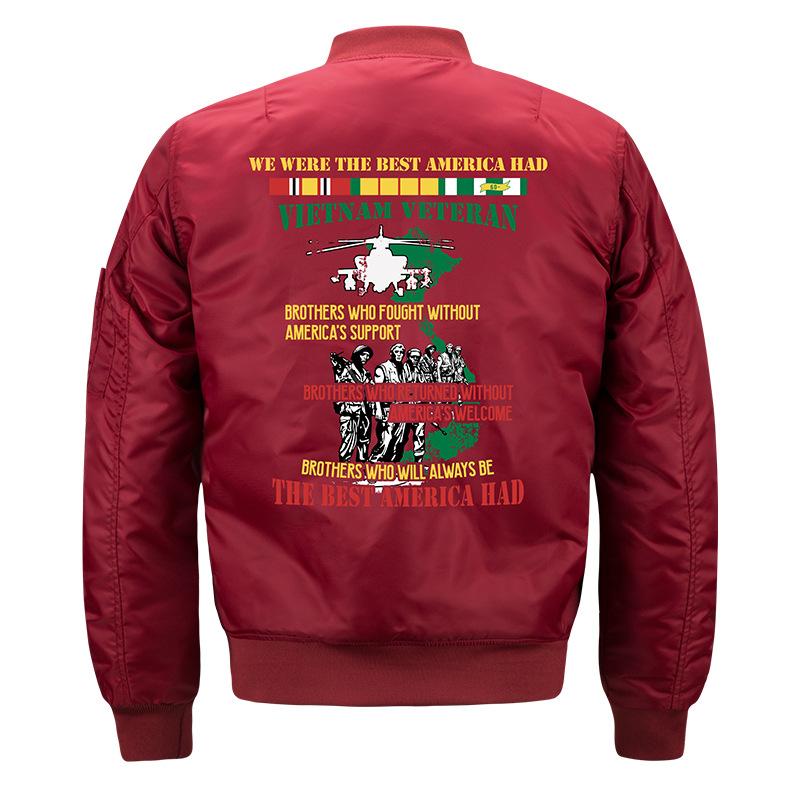 2020 male pilot air force military fan clothing Korean Baseball Shirt stand collar mens jacket autumn single sports trend
