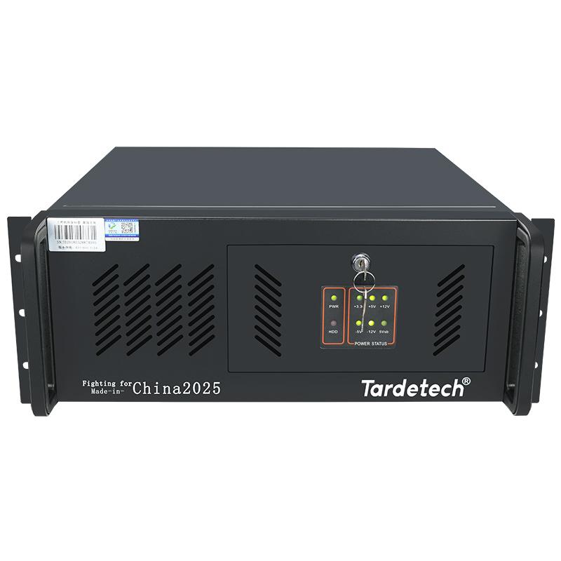 4U工控主机物联网服务器710i(8761)酷睿8代M.2盘USB3.1工业机器人产线应用