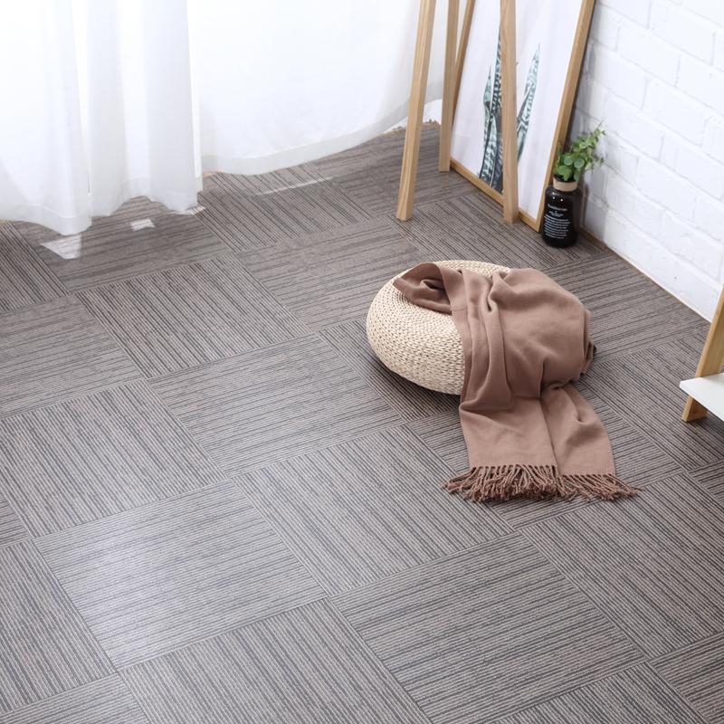 PVC自粘地板革贴纸办公室地毯纹加厚耐磨防水防滑ins网红工作室