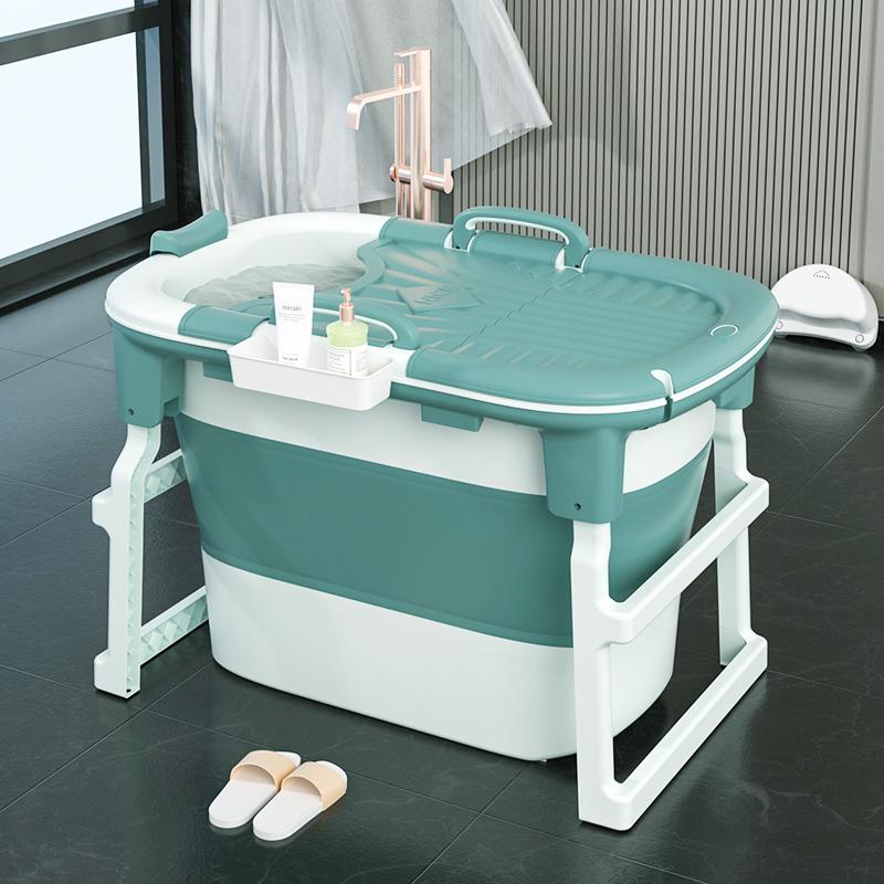 泡澡桶大人可折叠浴桶家用全身加厚成人浴缸沐浴桶浴盆洗澡桶神器