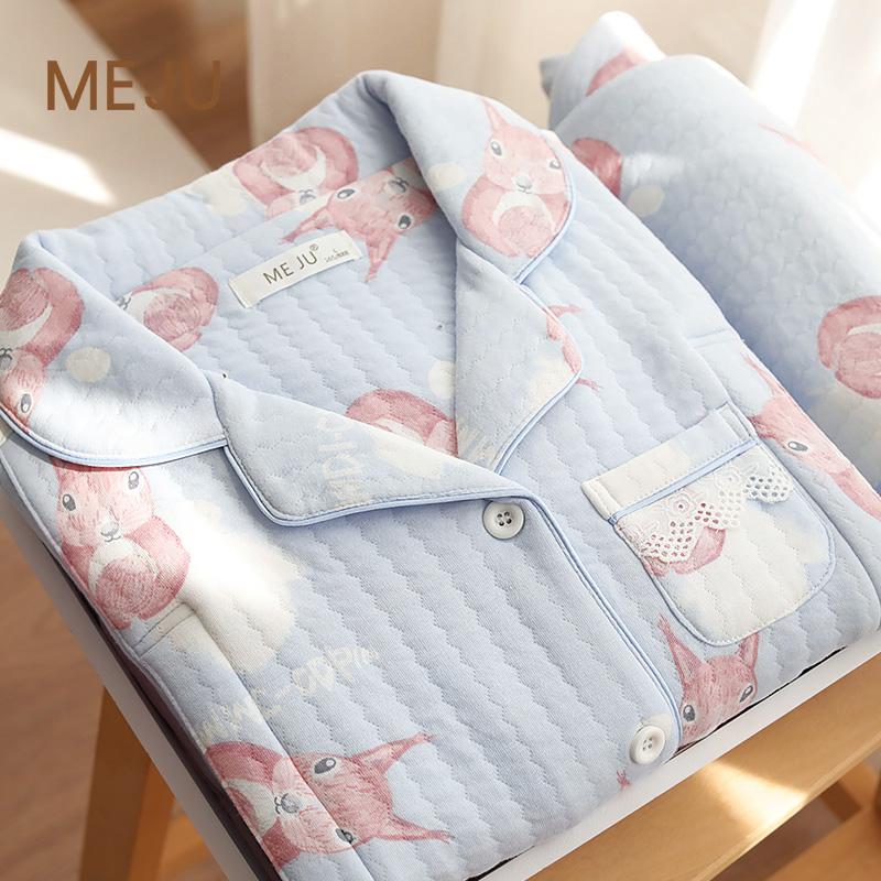 九月份月子服纯棉产后秋冬季睡衣热销20件包邮