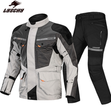 Lei wing cross country motorcycle racing suit winter waterproof and anti falling pull cycling suit men's and women's winter motorcycle suit