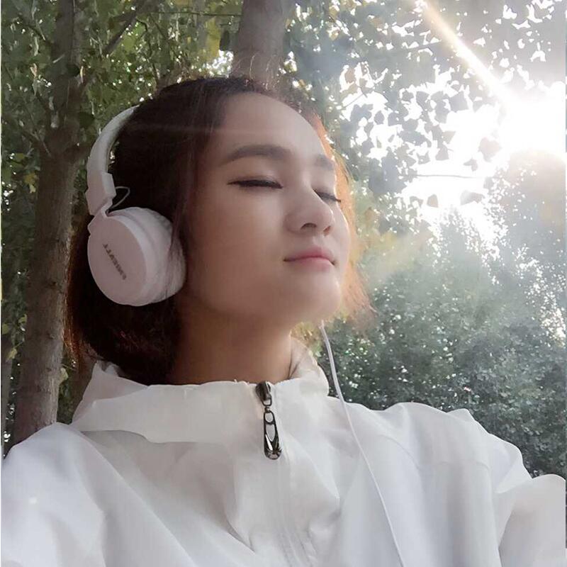 运动重低音炮头戴式耳机男女生手机单孔电脑通用音乐带麦有线耳麦