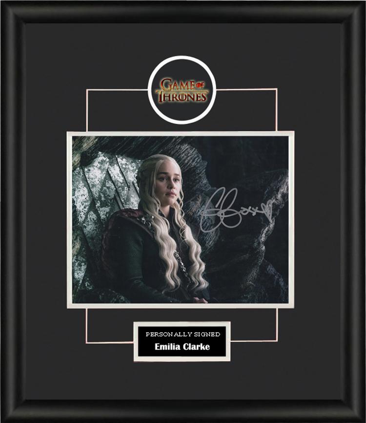 Long Ma Amelia Clark Autographed Photo Framed with SA certificate power game