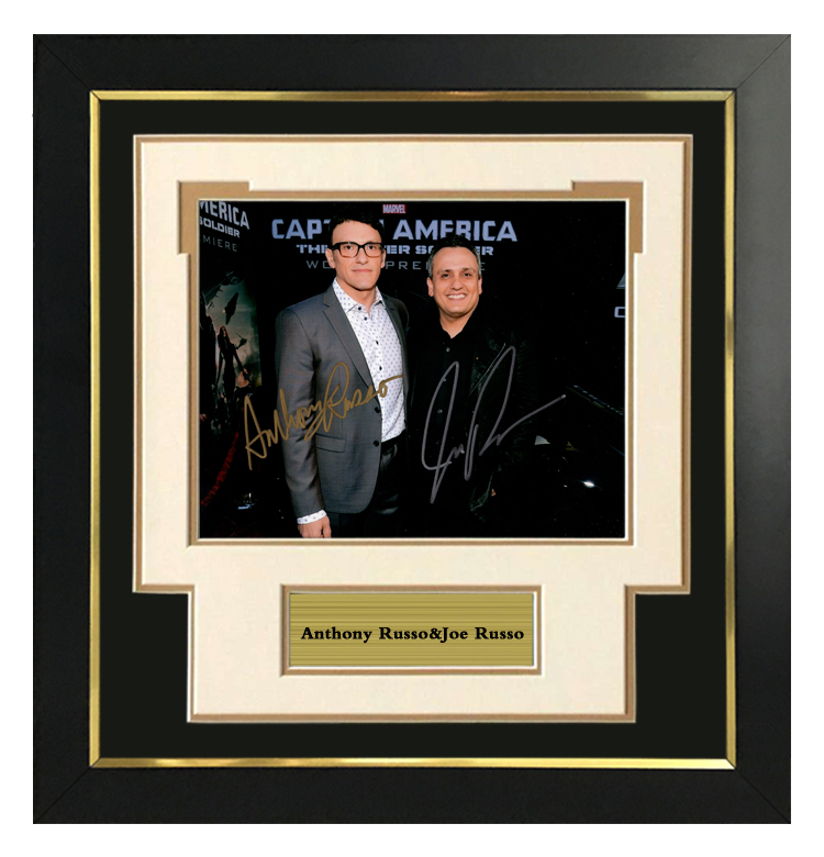 Russell brothers Avengers alliance 3 directors autographed photo with SA certificate