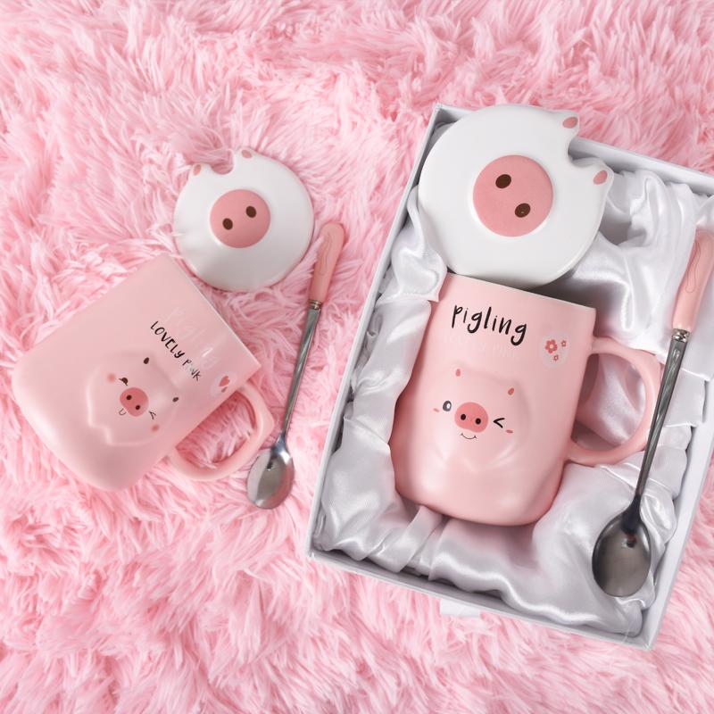生日礼物送男生女朋友礼物可爱水瓶