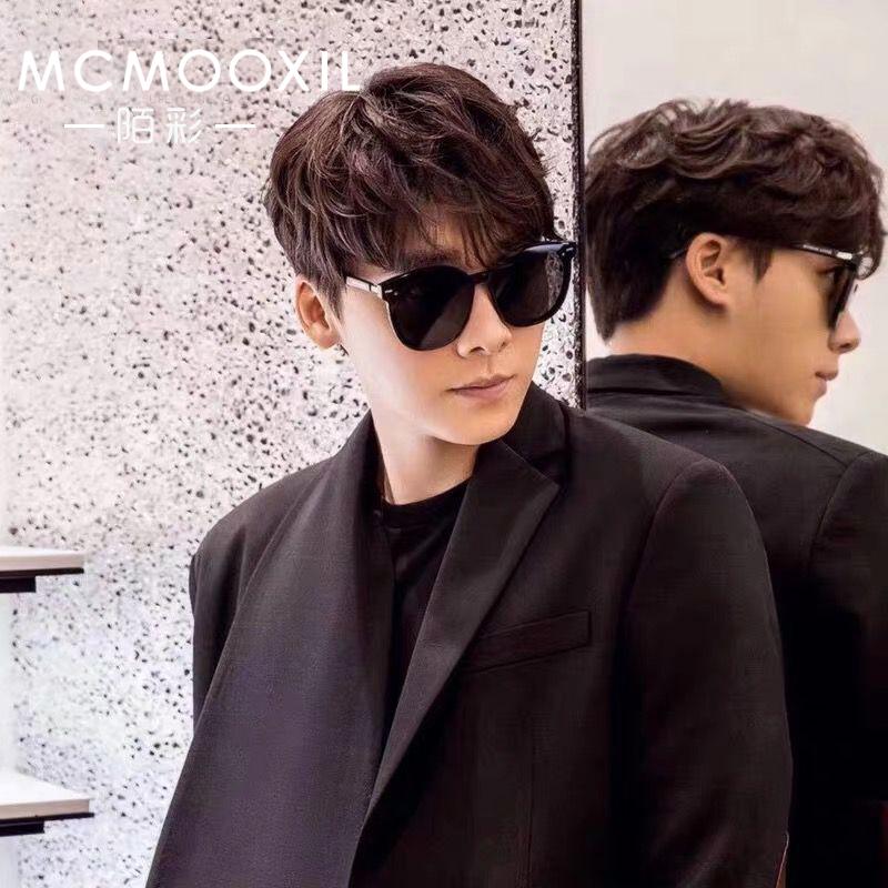 李易峰同款太阳镜开车专用眼镜2019新款男潮明星网红GM墨镜男大号
