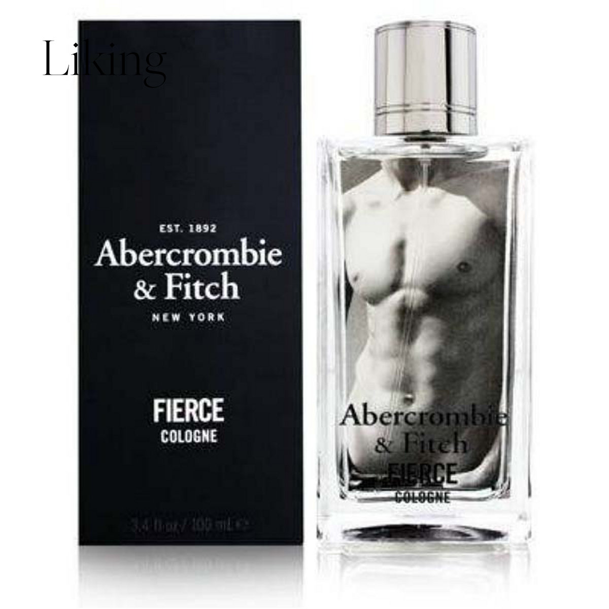 abercrombie   fitch 通用 男士古龙香水