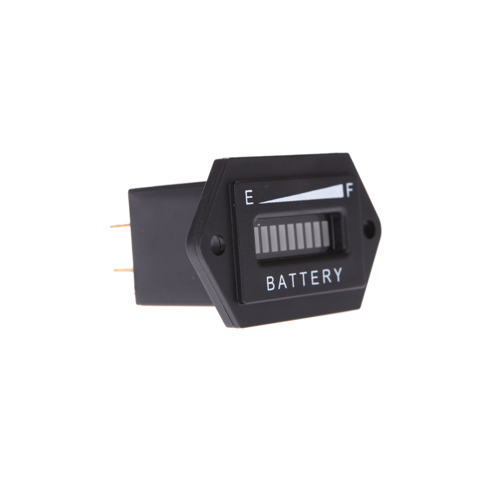 DC12/24 Car Digital LED Battery Meter Status Charge Indicato