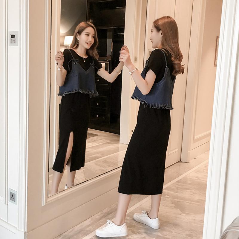 (用45.2元券)女士2019新款夏仙女超仙森系连衣裙
