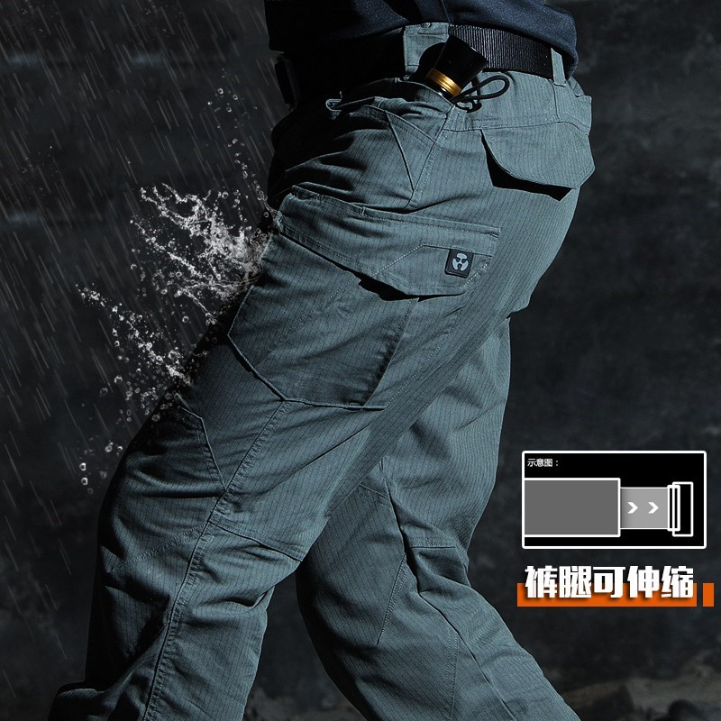 Mens autumn and winter commander of tactical pants