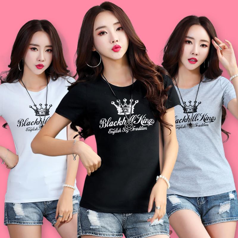 2018春夏韩版短袖T恤女