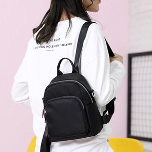 双肩包女2020新款潮韩版百搭时尚帆布迷你小包包女士牛津布小背包