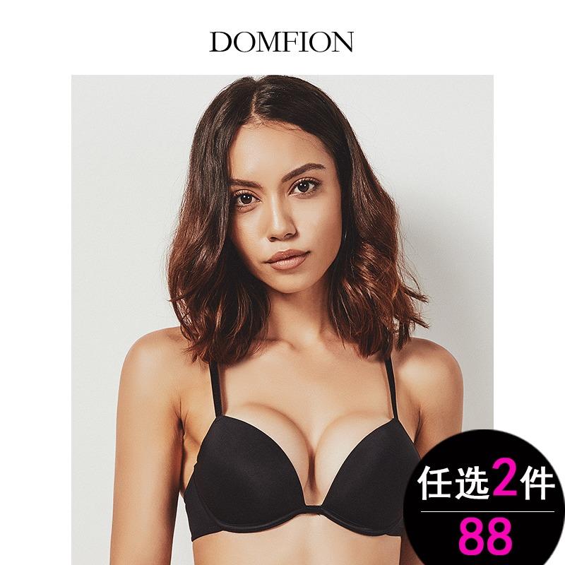 Domfion/朵迷芬 内衣女聚拢细带文胸性感无痕薄款学生少女小胸罩
