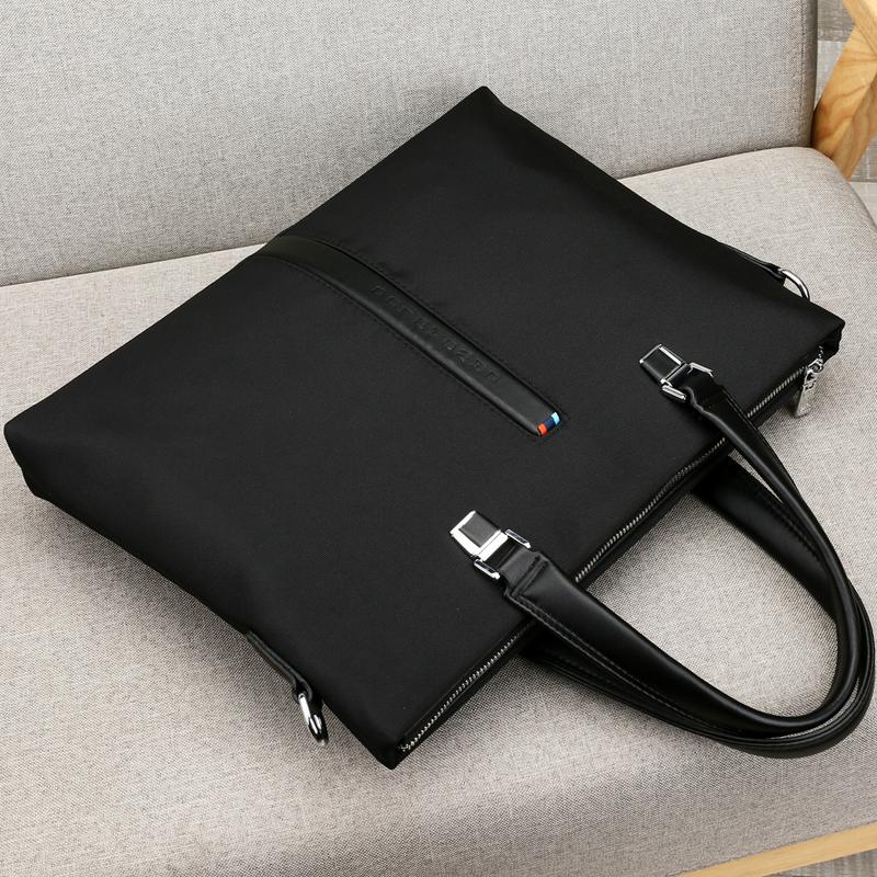 Paul, mens handbag, Oxford Business briefcase, leisure canvas, mans handbag, A4 document, computer bag