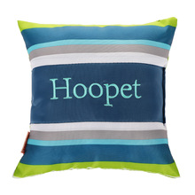 HOOPET striped small pillow dog Teddy puppies large dog bite-resistant molar pet toy sleeping pillow