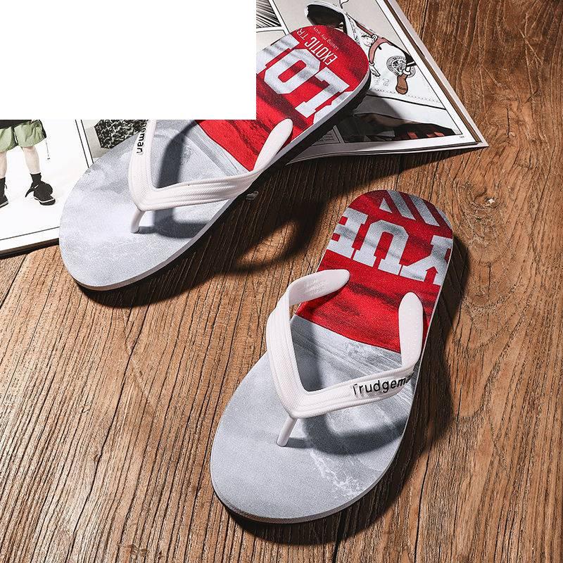人字拖男青少年夹脚拖鞋时尚休闲运动拖鞋沙滩鞋男士夏季大码凉拖