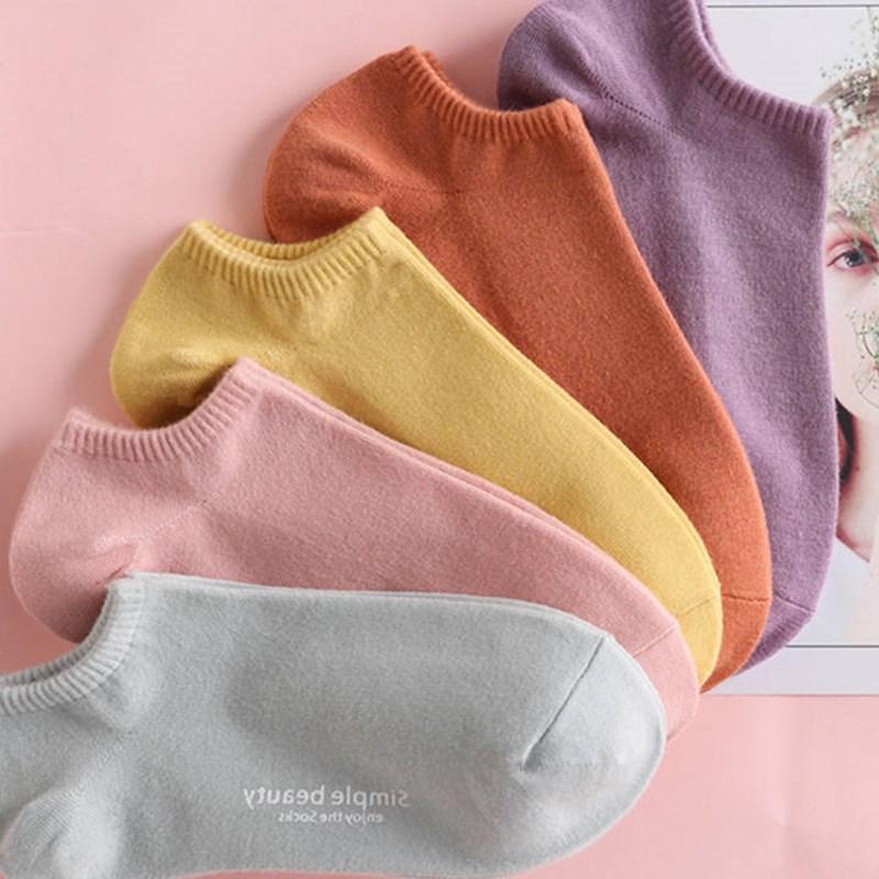 袜子女韩版短袜原宿风潮流夏季薄款学生新款船袜隐形女士浅口吸汗
