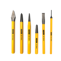 Stanley Tool Drilling Group set Hardware tool set masonry chisel cylindrical center cone punch Tip Chisel Punch