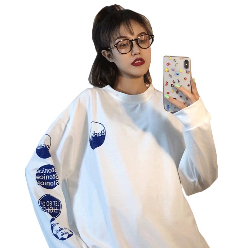 秋季2019新款韩版宽松原宿bf风卫衣质量靠谱吗