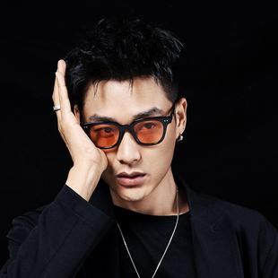 宋春江同款太陽眼鏡情侶男女款墨鏡潮流彩色眼鏡片