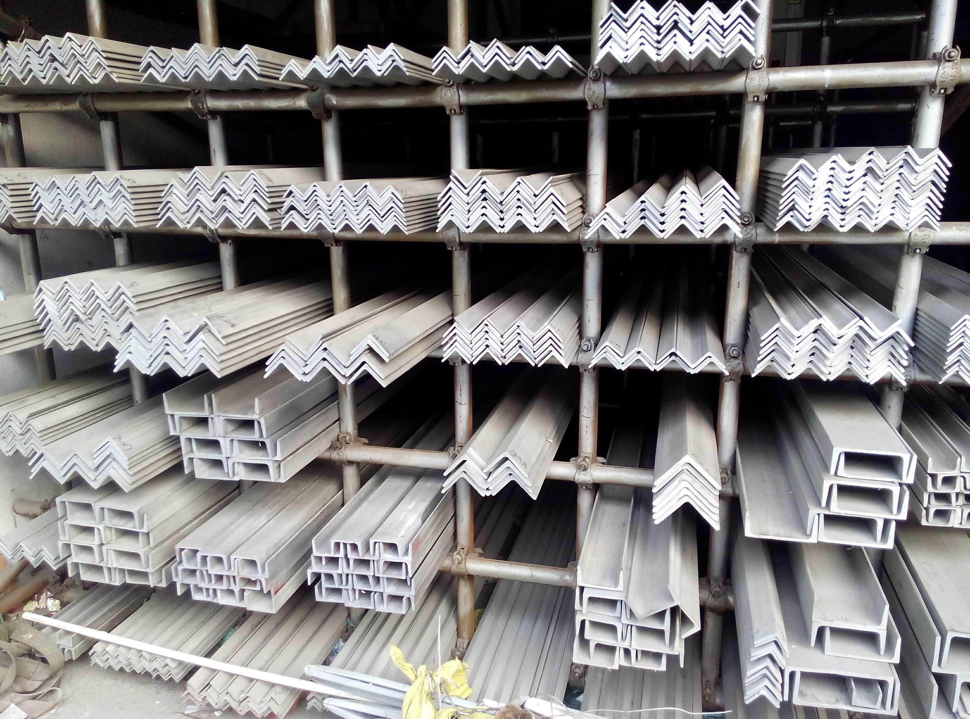 Нержавеющей стали угол сталь нержавеющей стали корыто сталь нержавеющей стали палка 201 304 316 стандарт нестандартный профили