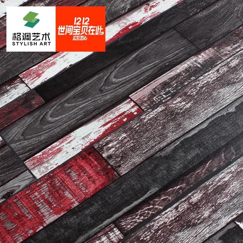 Комплекс этаж  12mm корейский цвет медальон одежда магазин личность ретро водонепроницаемый укреплять копия дерево этаж