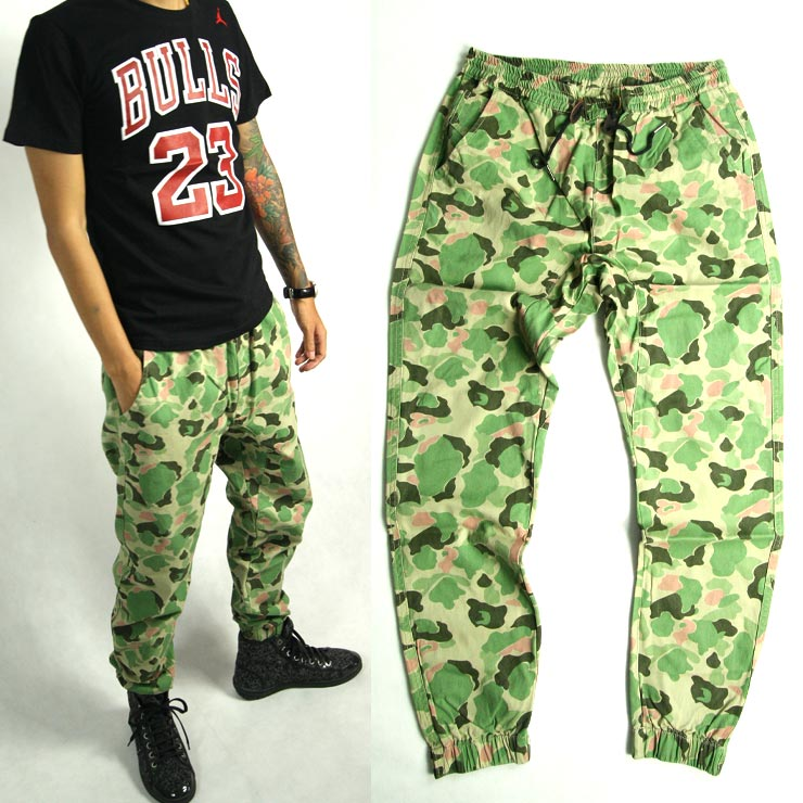 Street Reggae hip hop cotton wear-resistant Harlem skateboard fashion casual pants jogging neckband leg pants