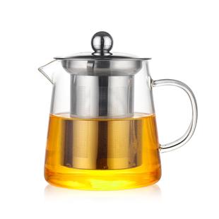 加厚耐热玻璃小号耐高温过滤泡茶壶