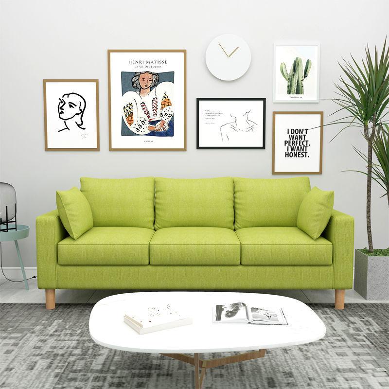 小户型单人客厅卧室北欧网红沙发