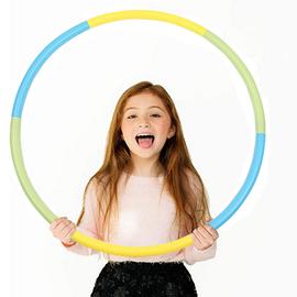 儿童呼啦圈中小学生初学者呼啦圈塑料可拆卸可加重体操圈游戏圈