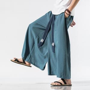 汉元素中国风仙气宋裤裙裤改良汉服