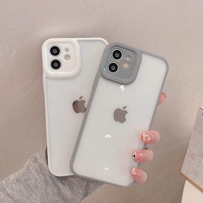 iPhone12苹果11ProMax硅胶xr直边手机壳8p女7p/xsmax保护壳xs情侣