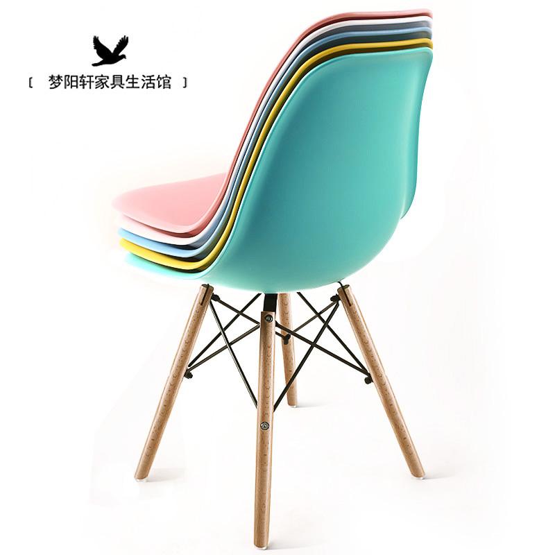 Ирак уильямс стул современный простой письменный стол стул домой магазин спинка стула компьютер стул стул дерево нордический стул