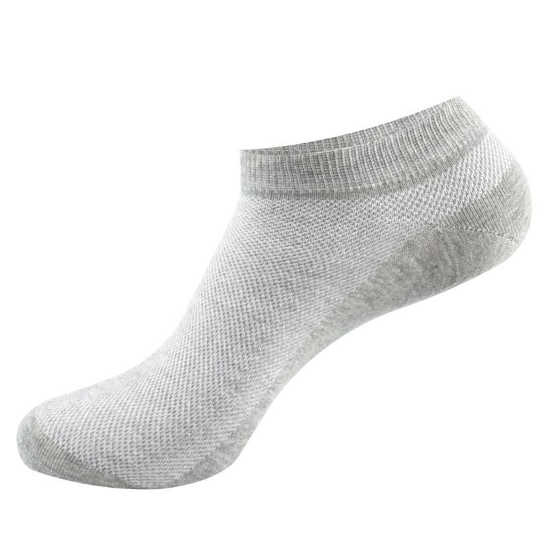 袜子男士纯棉短袜夏季超薄浅口防臭吸汗全棉男袜薄款夏天透气船袜