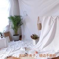 Фоновая ткань белый детские Taobao фотографии фото стрелять фон ткань в подвесной ткани Nordic белый Ткани для фото