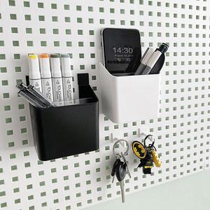 收纳置物盒墙上免打孔宿舍壁挂架