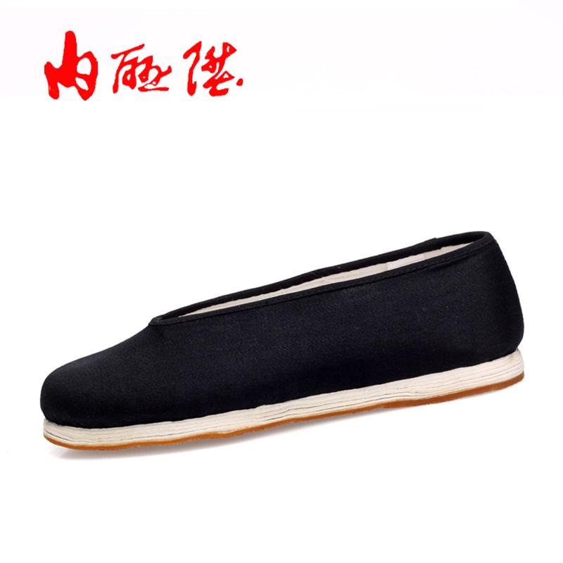 布鞋男鞋北京布鞋机纳千层底加密贴胶片礼小元3156D降级品