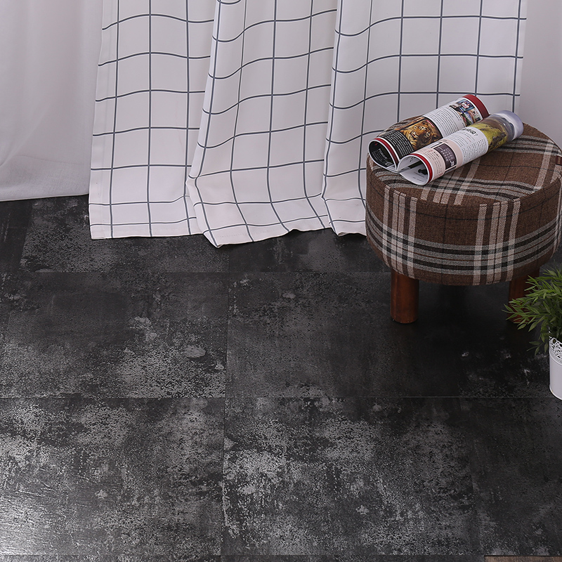 PVC self-adhesive floor leather plastic plastic sticker marble Nordic Industrial style apartment building office building