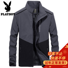 Playboy Autumn Winter Jacket Men's Spring Trend 2019 Cotton Casual Casual Men's Men's Tooling Jacket