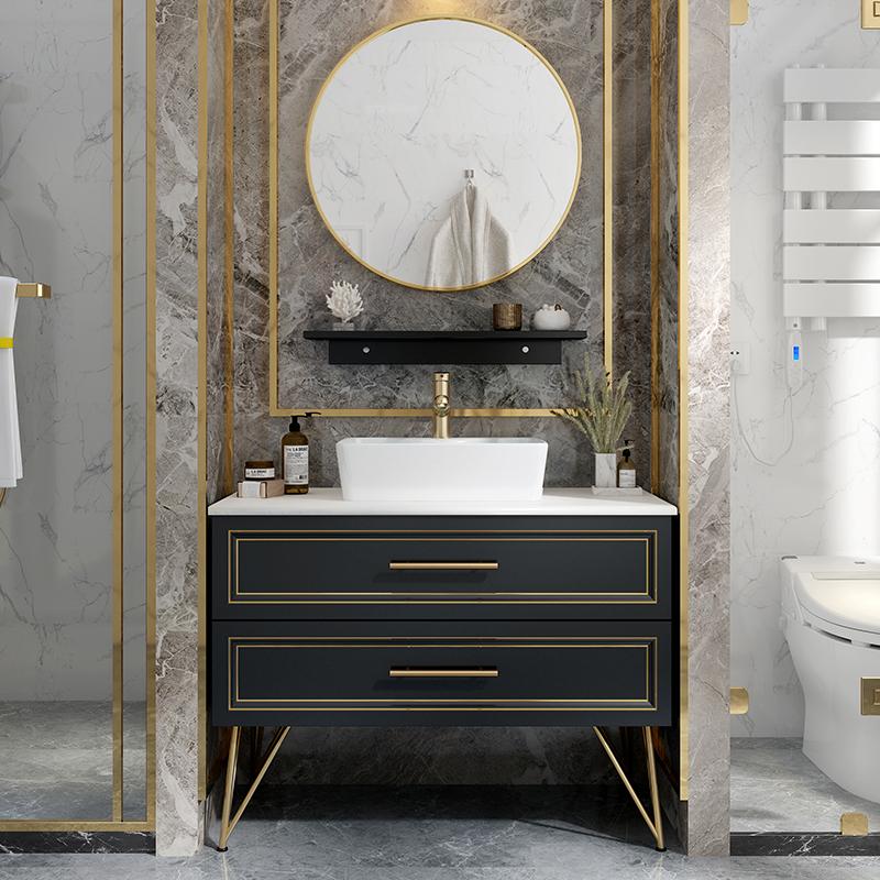 轻奢浴室柜组合洗漱台盆柜洗手池满3760.00元可用1880元优惠券