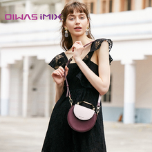 Hand-held oblique Bag Lady Bag semi-circular lock saddle bag new style 2019 fashionable small CK lady bag piggy bag